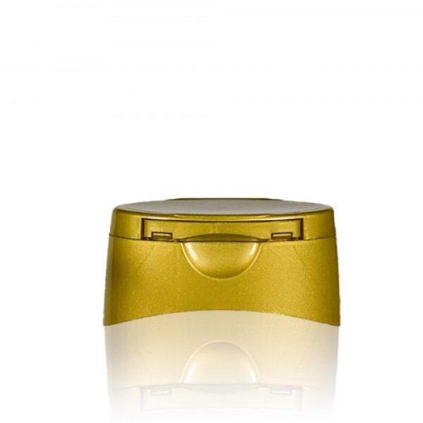 Klepdop Honey Goud 25mm
