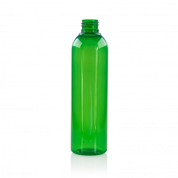 250 ml fles Basic Round PET groen 24.410