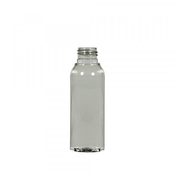 100 ml fles Basic Round gerecycled PET transparant 24.410