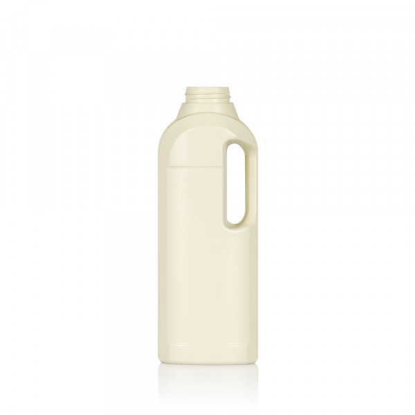 1000 ml fles Multi gerecycled HDPE ivoor 567