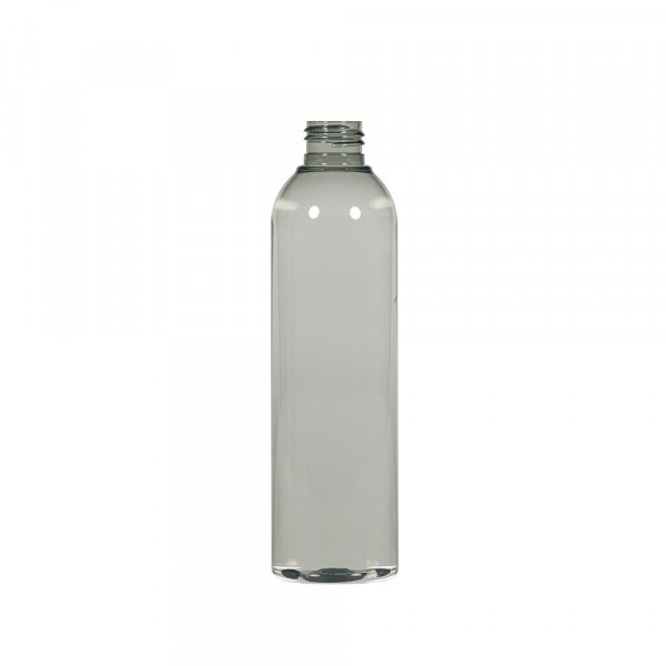 250 ml fles Basic Round gerecycled PET transparant 24.410