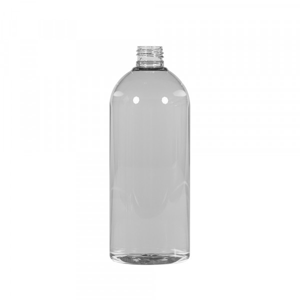 500 ml fles Basic Round gerecycled PET transparant 24.410