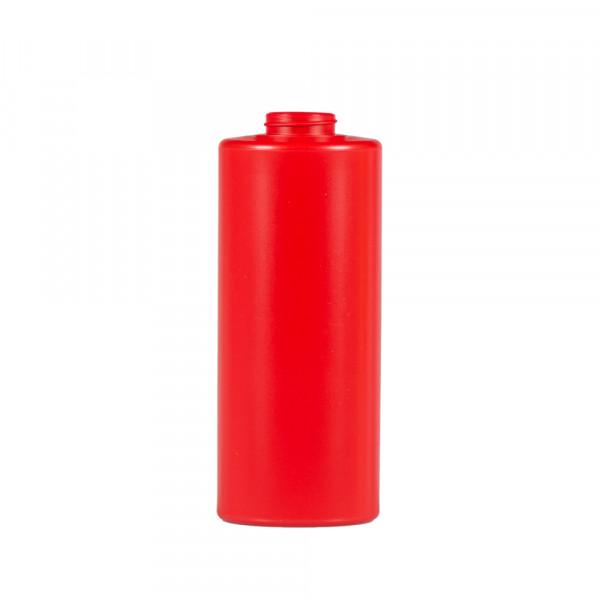 1000 ml fles Sauce Round MIX LDPE/HDPE rood 38.400