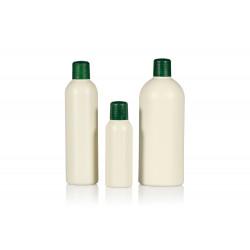 100% Gerecycled Basic Round R-HDPE flessen