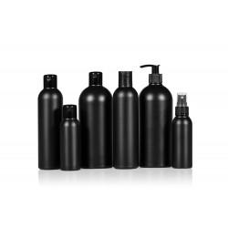 Basic Round PE flessen zwart