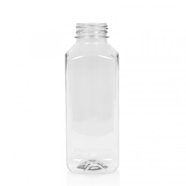 1.000 ml sapfles Juice Square PET transparant