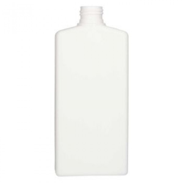 250 ml fles Mailbox Rectangle HDPE wit 24.410