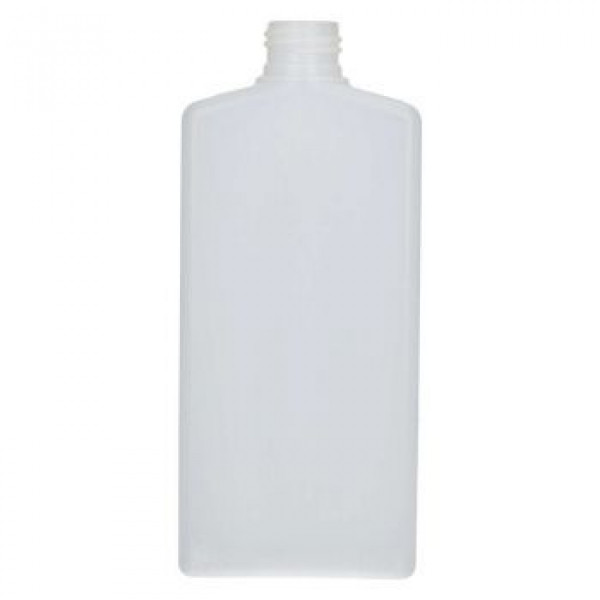 250 ml fles Mailbox Rectangle HDPE naturel 24.410