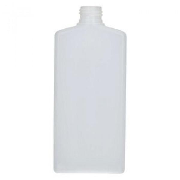 250 ml fles Mailbox Rectangle HDPE naturel 24.410