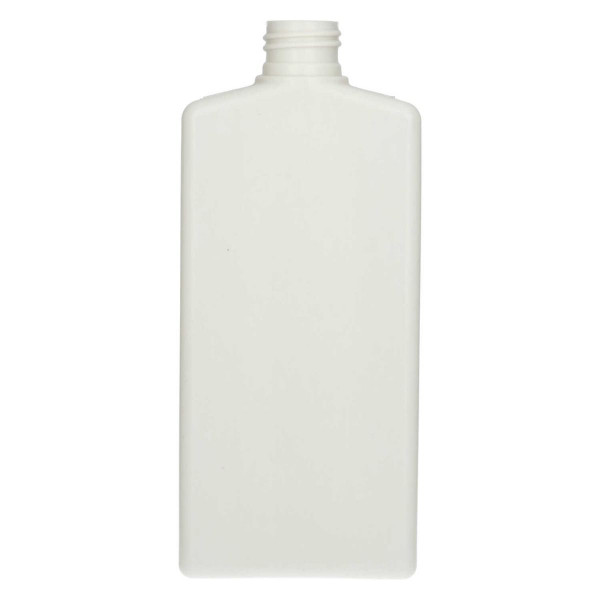 250 ml fles Mailbox Rectangle gerecycled HDPE ivoor 24.410