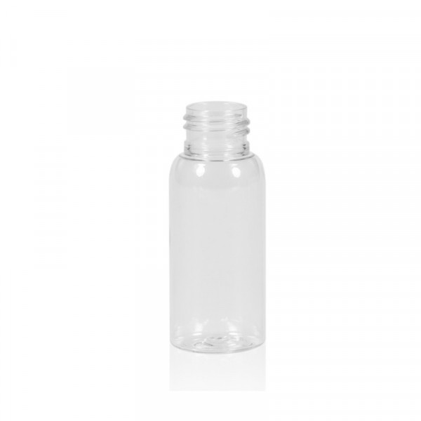 30 ml fles Basic Round PET transparant 24.410