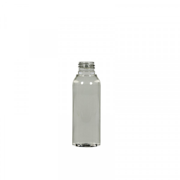 50 ml fles Basic Round 100% gerecyclede PET transparant 24.410