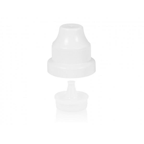 Kindveilige dop + plug PP wit 603