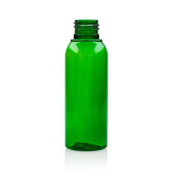 100 ml fles Basic Round PET groen 24.410