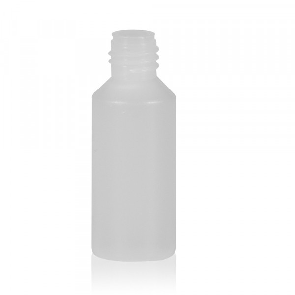 10 ml fles Mini Round HDPE-LDPE naturel