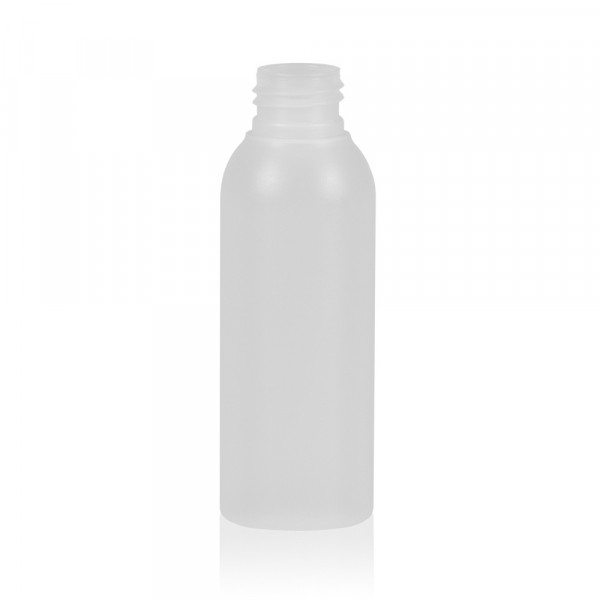 100 ml fles Basic Round HDPE naturel 24.410