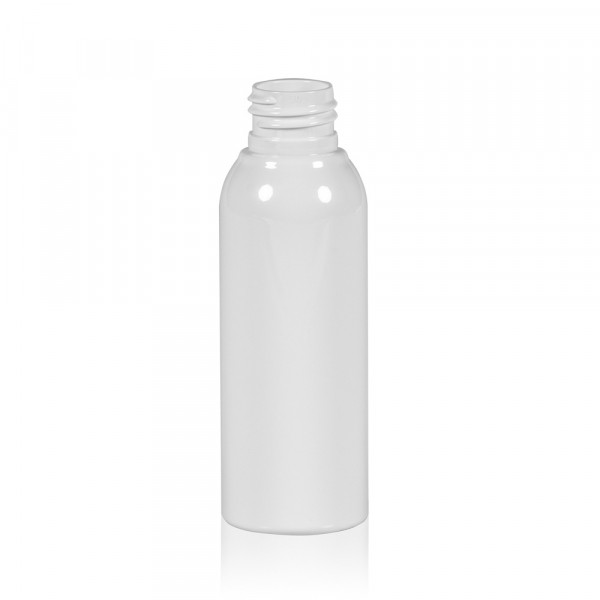100 ml fles Basic Round PET wit 24.410