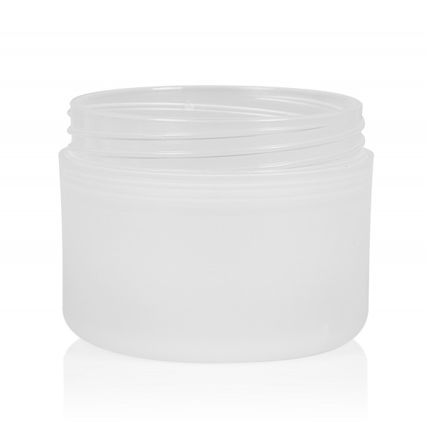 100 ml pot Frosted Soft PP naturel dubbelwand