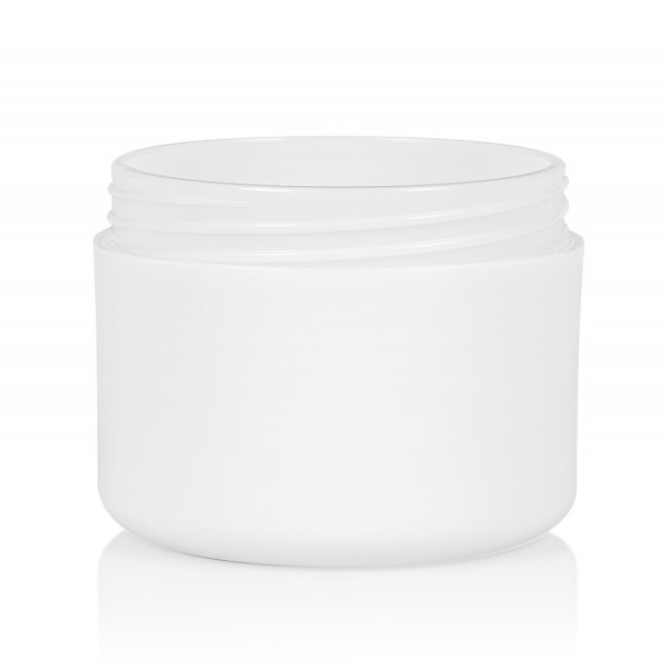 100 ml pot Frosted Soft PP wit dubbelwand