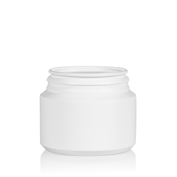 100 ml pot Pharma Cylinder HDPE wit