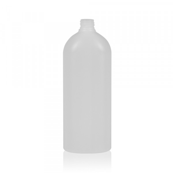 1000 ml fles Basic Oval HDPE naturel 28.410