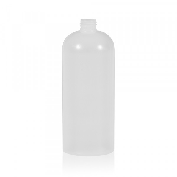 1000 ml fles Basic Round HDPE naturel 28.410