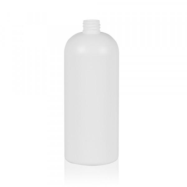 1000 ml fles Basic Round HDPE wit 28.410