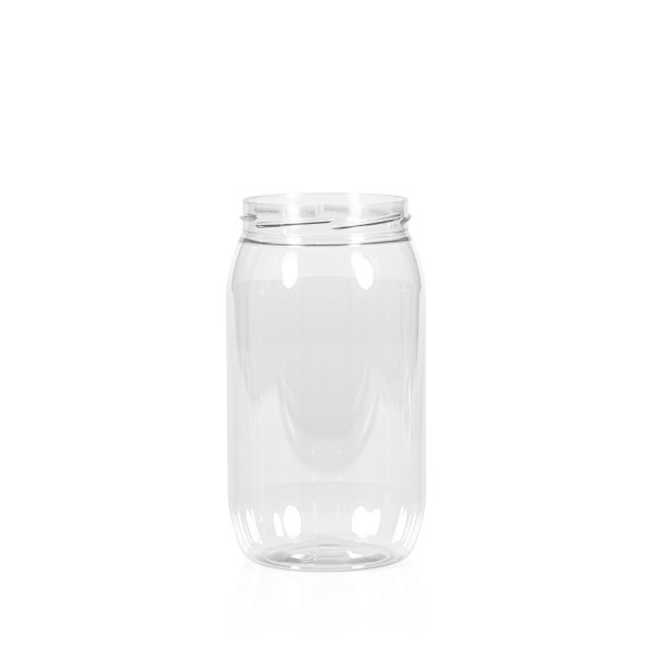 1000 ml Big clear PET transparant