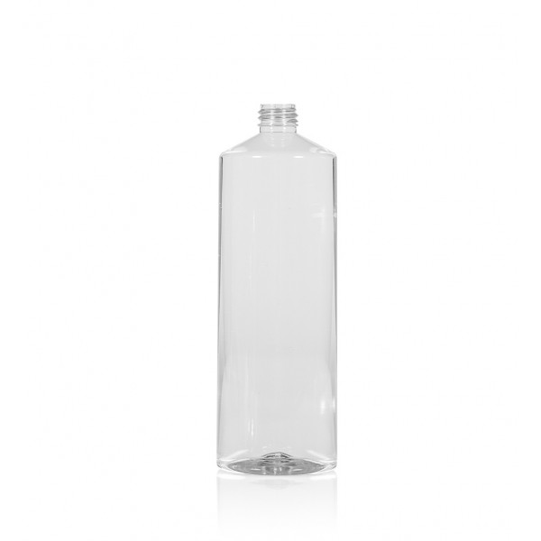 1000 ml fles Combi PET transparant 28.410