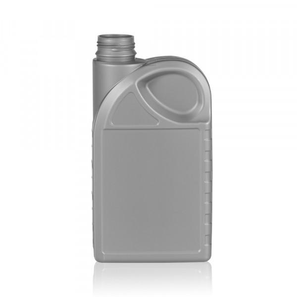 1000 ml fles Oil HDPE zilver
