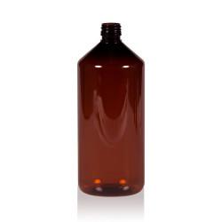 1000 ml fles Pharma PET bruin 28.410