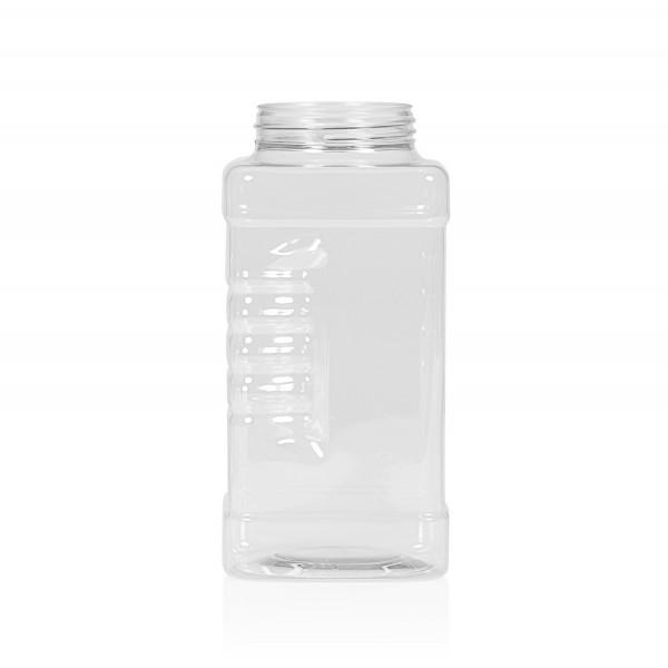 1000 ml Spice square PET transparant