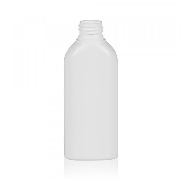 125 ml fles Basic Oval HDPE wit 24.410
