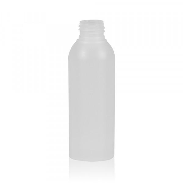 125 ml fles Basic Round HDPE naturel 24.410