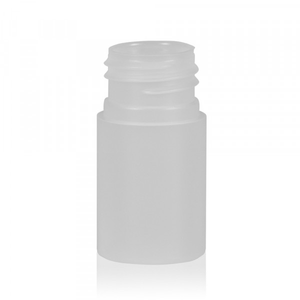 15 ml fles Basic Round HDPE naturel 24.410