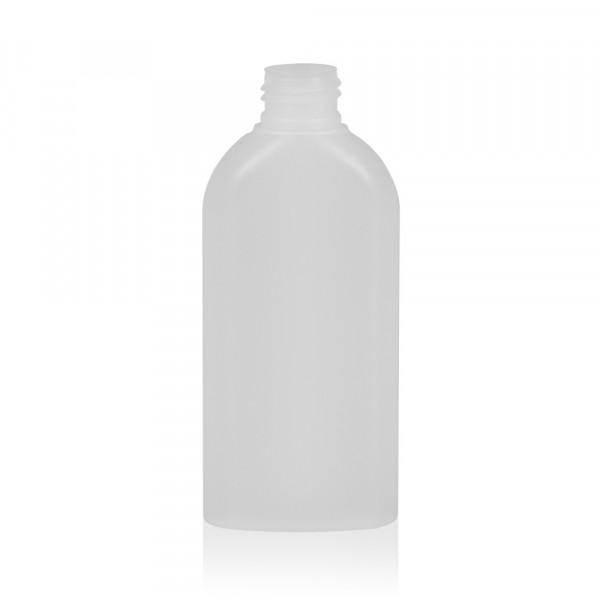 150 ml fles Basic Oval HDPE naturel 24.410
