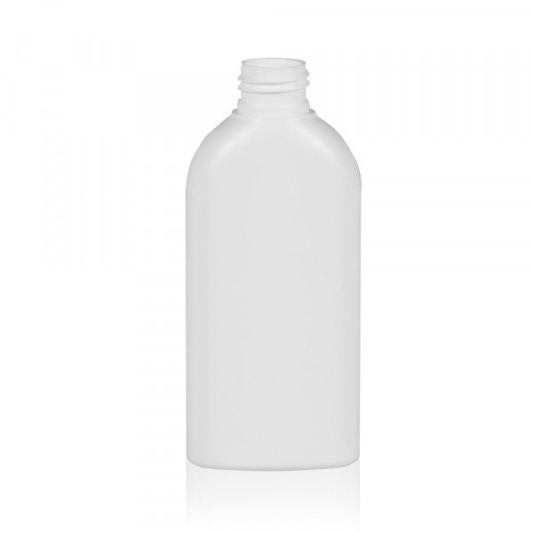 150 ml fles Basic Oval HDPE wit 24.410