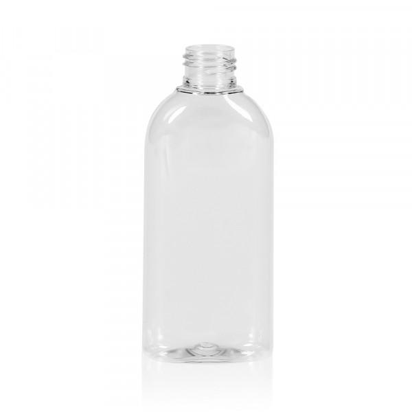 150 ml fles Basic Oval PET transparant 24.410