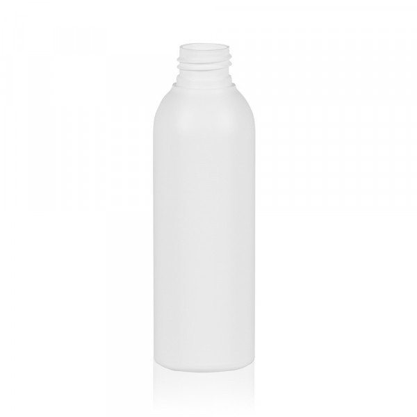 150 ml fles Basic Round HDPE wit 24.410