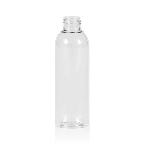 150 ml fles Basic Round PET transparant 24.410