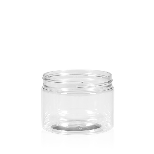 150 ml Clear cylinder PET transparant