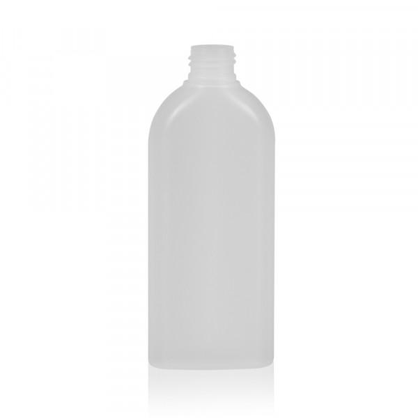 200 ml fles Basic Oval HDPE naturel 24.410