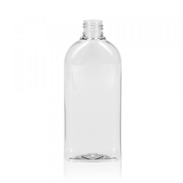 200 ml fles Basic Oval PET transparant 24.410