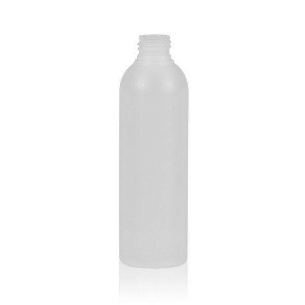 200 ml fles Basic Round HDPE naturel 24.410