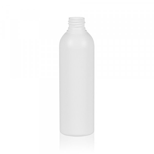 200 ml fles Basic Round HDPE wit 24.410