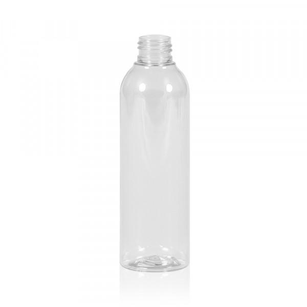 200 ml fles Basic Round PET transparant 24.410