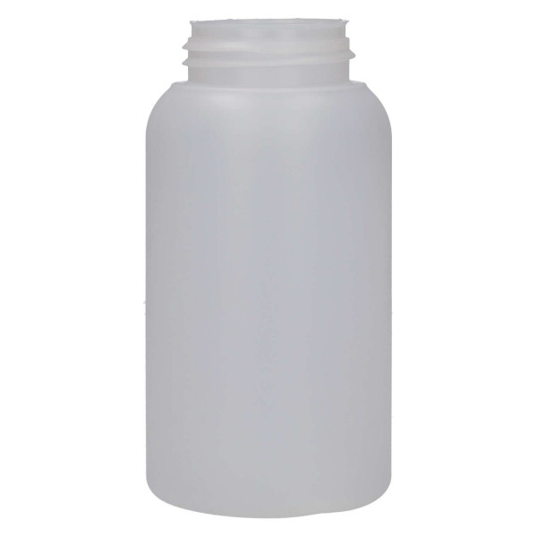 250 ml fles Compact round HDPE naturel 567