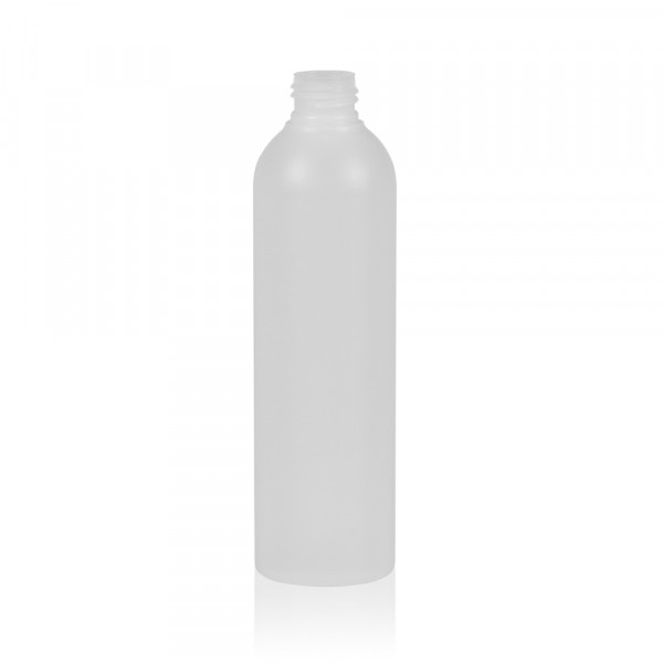250 ml fles Basic Round HDPE naturel 24.410