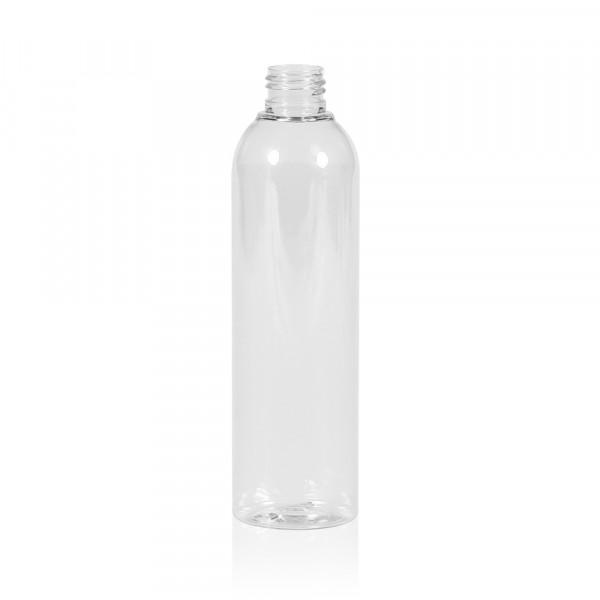 250 ml fles Basic Round PET transparant 24.410