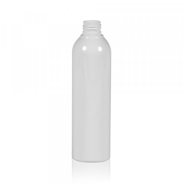 250 ml fles Basic Round PET wit 24.410